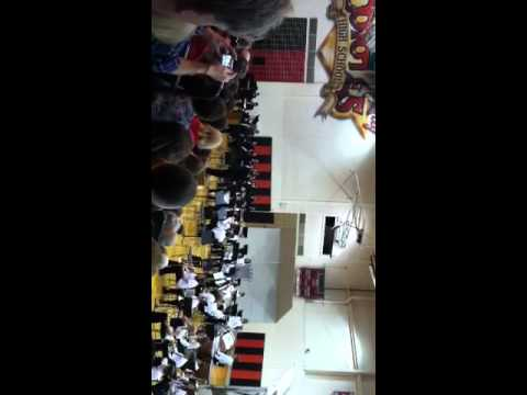 Reed city middle school 8th grade band