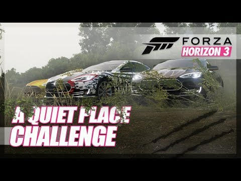 "Forza Horizon 3 - ""A Quiet Place"" Challenge (Horror Mini Game)"