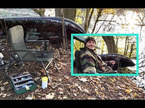 AUTUMN KAYAK WILD CAMP, Canoe Rod Fishing & Tactics, Fire Wood/Pit/Cooking, Comfy Chair +++