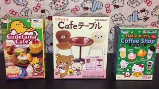 Re-ment Miniatures: Gudetama, Rilakkuma & Hello Kitty Blind Boxes Toy Opening