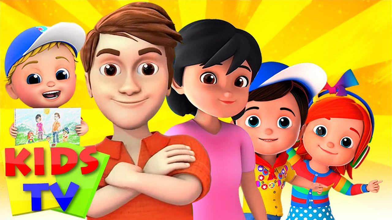 Finger Family Song   Junior Squad Cartoons   Nursery Rhymes & Baby Songs - Kids TV
