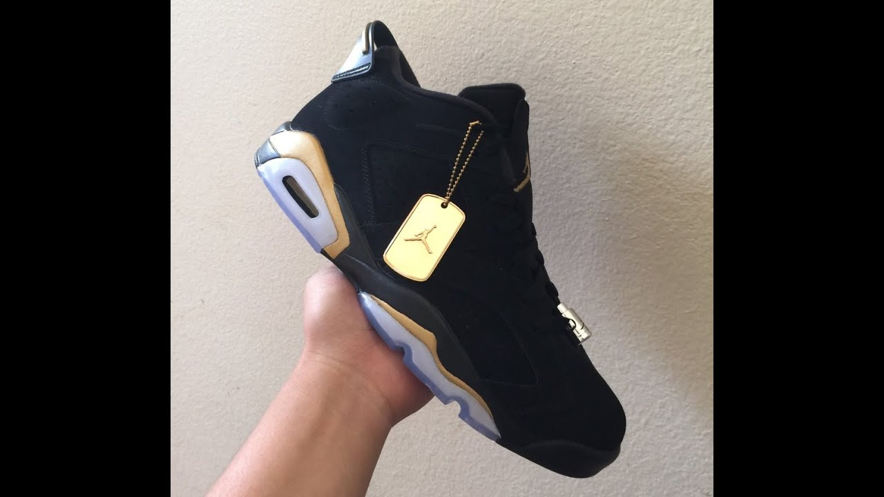 buy online 1d31a 59796 Custom DMP Air Jordan 6 Low Tutorial