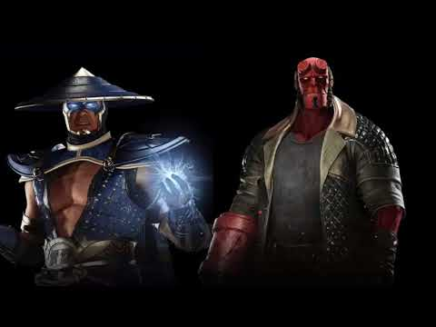 INJUSTICE 2 LEAKED HELLBOY AND RAIDEN PORTRAIT IMAGES