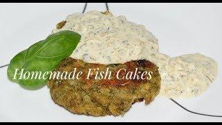How To Make Fish Cakes - Cod Fish Patties Recipe