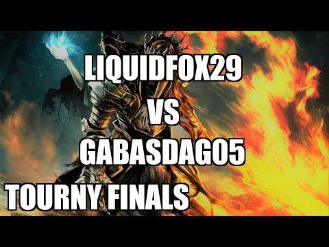 Dark Souls 3 Tournament Finals - LiquidFox29 vs gabasdag05