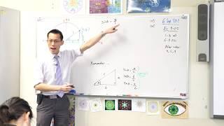 Trigonometry on the Unit Circle (1 of 3: Introduction)