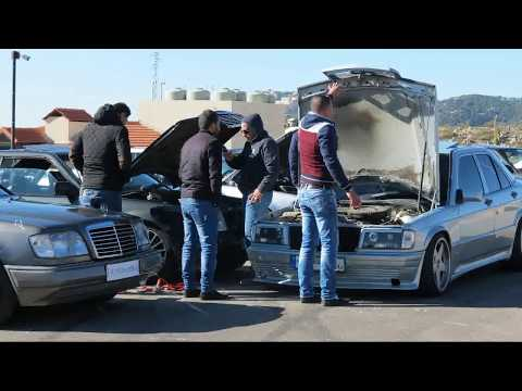 mercrdes-benz w201 club lebanon (w201-w124 ride to zaarour)