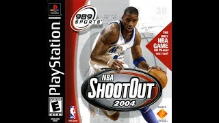 NBA ShootOut 2004 (PlayStation)
