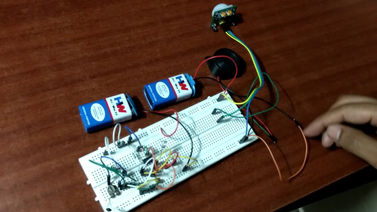 How To Make A Fire Alarm Circuit Components Used Required Youtube Using Thermistor 038 Ne555