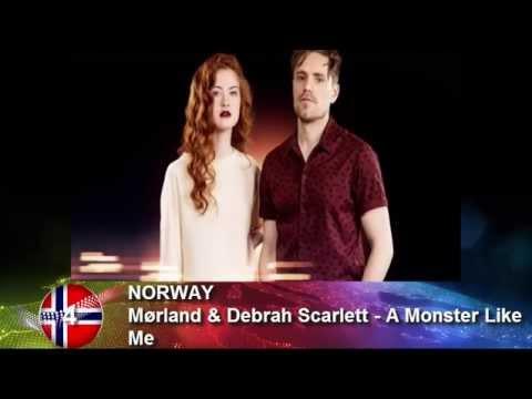 Eurovision 2015 Final Top 40
