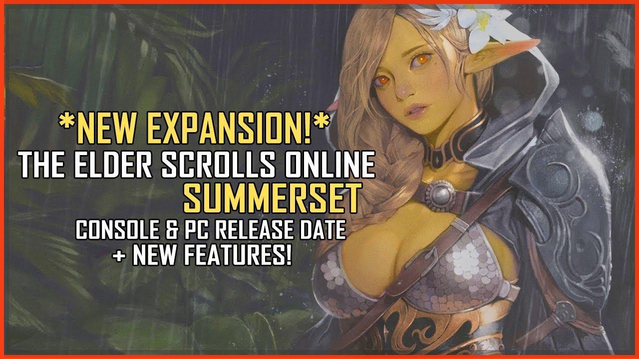 Elder scroll online release date pc in Melbourne