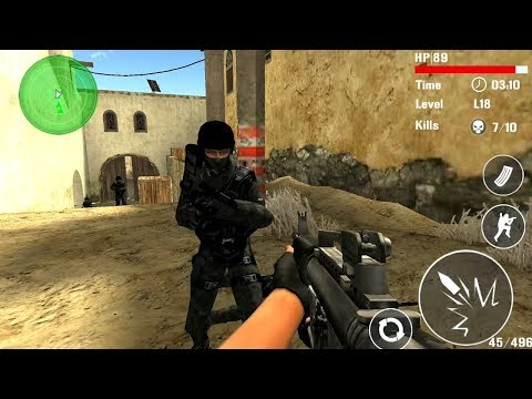 Counter Terrorist Shoot Android Gameplay