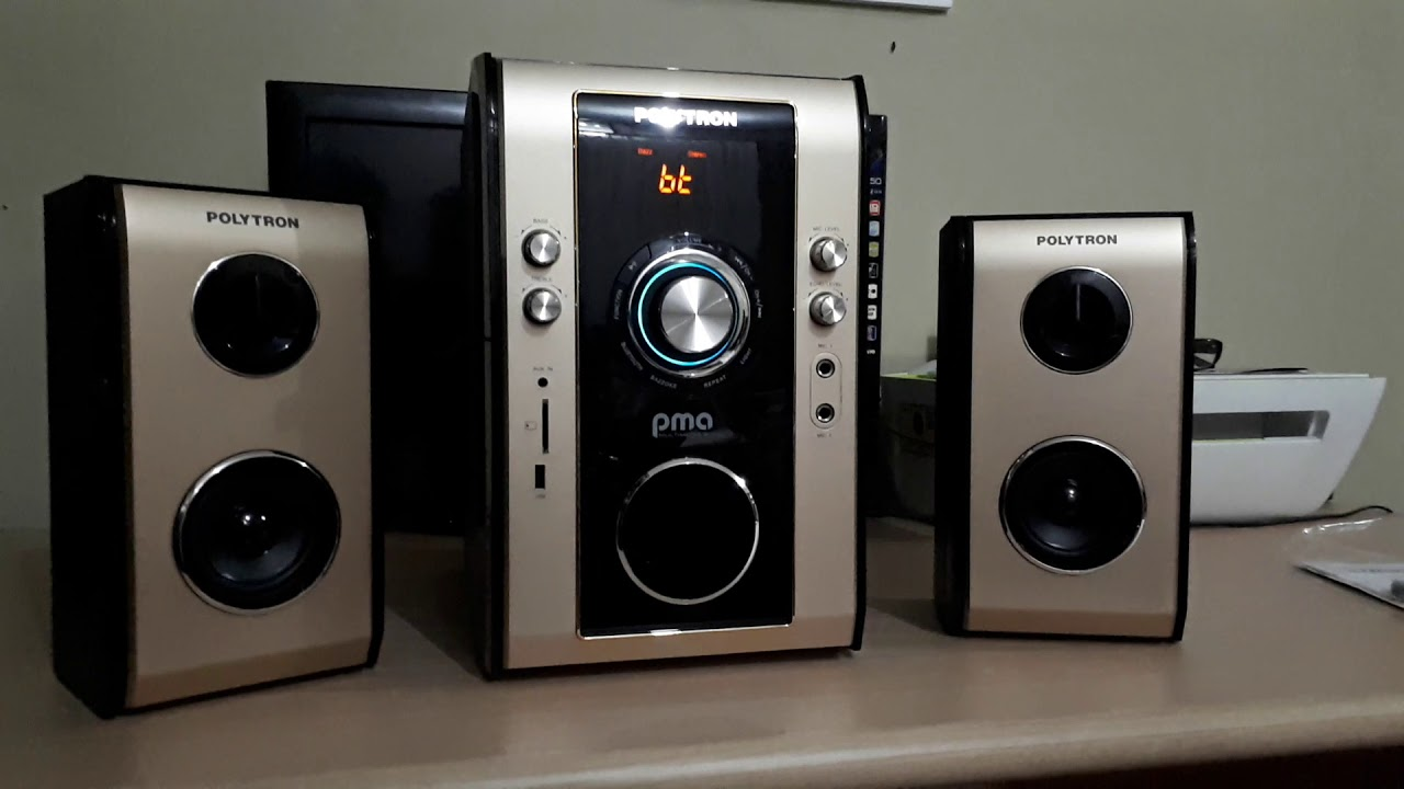 Review & Test Sound Speaker Polytron PME 9503. Mantap