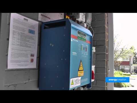 Solar Energy Battery Storage