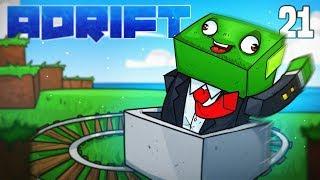 Minecraft: ADRIFT - CREATIVE GENIUS! (Ep.21)