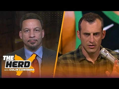 Chris Broussard: Kyrie and KD to Knicks is a 'dream scenario', talks NBA MVP race | NBA | THE HERD thumbnail
