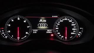 Тест стрелок Audi A6 C7 3.0 TFSI