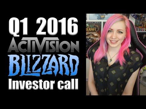 Activision-Blizzard Investor Call Recap & Analysis (Q1 2016)