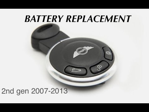 mini cooper key fob battery replacement youtube. Black Bedroom Furniture Sets. Home Design Ideas