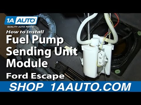 How to Replace Fuel Pump & Sending Unit 01-04 Ford Escape