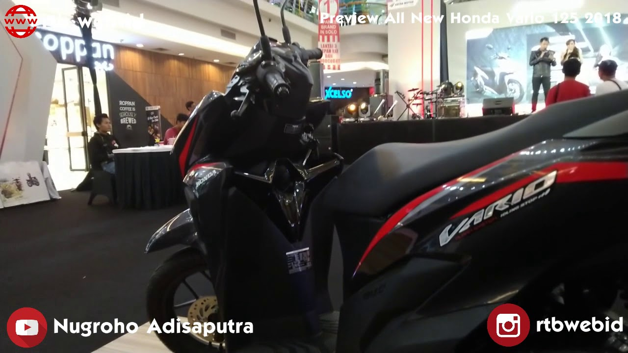 preview all new honda vario 125 2018 youtube preview all new honda vario 125 2018