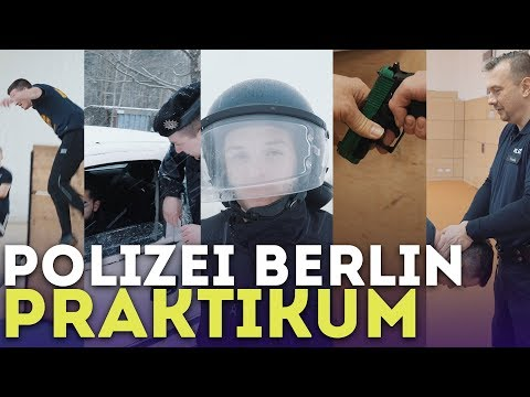 Hände Hoch! Praktikum Bei Der Polizei Berlin!   Ein Aaron Für Alle Fälle!