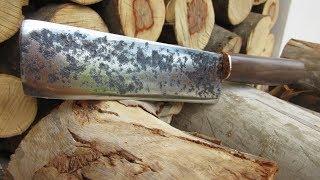 Restoring an Old Rustic Chopper Knife