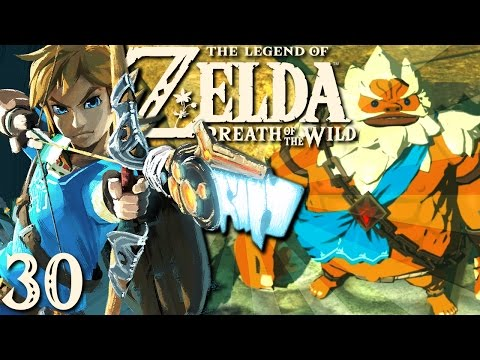 BLASTING THE DIVINE BEAST | Let's Play Zelda: Breath of the Wild Part 30 w/ ShadyPenguinn