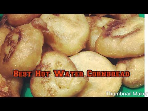 BEST  HOT WATER Cornbread RECIPE!!! MUST WATCH!!
