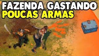 Completando Fazenda Gastando Poucas Armas - Last Day on Earth