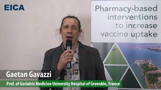 Gaetan Gavazzi, Pharmacy based interventions to increase vaccine uptake, EICA