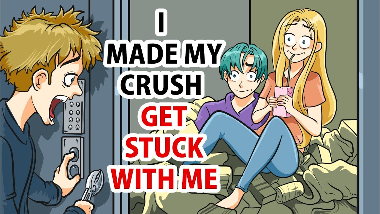 I Made My crush get Stuck with me in an Elevator, It Backfired