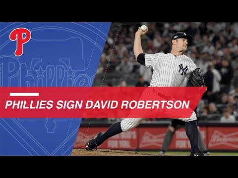 David Robertson enters free agency this offseason