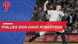 David Robertson agrees to deal with Phillies