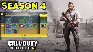 *NEW* CALL OF DUTY MOBILE SEASON 4 ALL UPDATE LEAKS & UPCOMING CONTENT!!