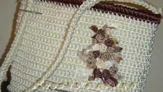 Вязаные сумки крючком, Crocheted bags, תיקים סרוגים