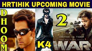 Hrithik Roshan Upcoming Movies 2020-21, Krrish 4 | Dhoom 4 | War 2