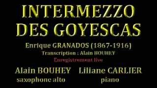 INTERMEZZO DES GOYESCAS Enrique GRANADOS