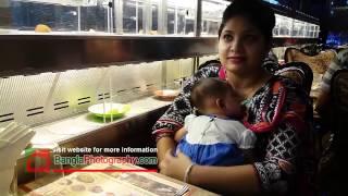 Fuji train robot restaurant Asad gate Dhaka bangladesh