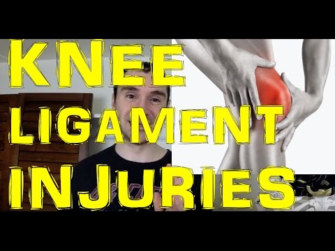Knee Ligament Injuries: How They Happen! (MCL, LCL, PCL, & ACL Tears)