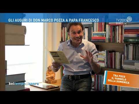 Gli auguri di don Marco Pozza a Papa Francesco