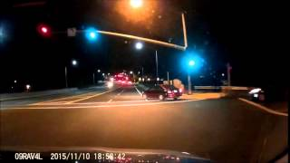[11/10/2015] Red Camry on Airport Boulevard @ Northbound 101 Offramp, Santa Rosa, CA