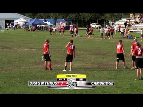 WUCC 2014 | UK Cambridge vs Minneapolis Drag'n Thrust - (Mixed Quarterfinals)