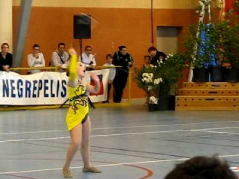 Jessica Solo twirling baton 2010