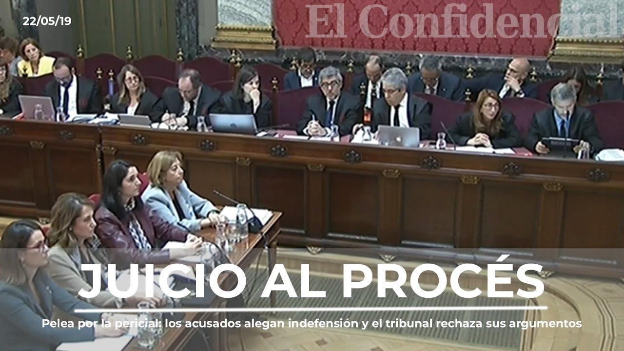 Pelea por la pericial  los acusados alegan indefensión y el tribunal rechaza sus argumentos