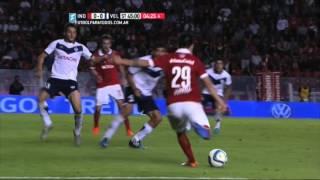 Gol de Rodríguez. Independiente 1 - Vélez 0. Fecha 30. Primera División 2015. FPT