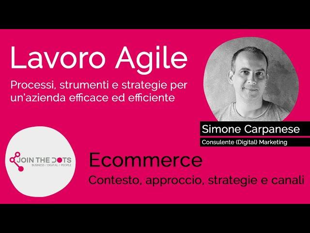 Ecommerce: contesto, approccio, strategie e canali