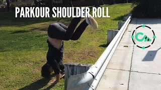 HOW TO START PARKOUR: Shoulder Roll / Safety Roll / Parkour Roll Tutorial For Beginners