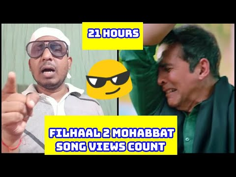 Filhaal 2 Mohabbat Song Record Breaking Views In 21 Hours, Bhai Is Gaane Ne Records Ki Jhadi Laga Di