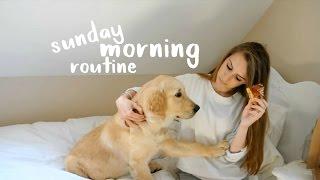 SUNDAY MORNING ROUTINE 2016 // GEORGIE CLARKE